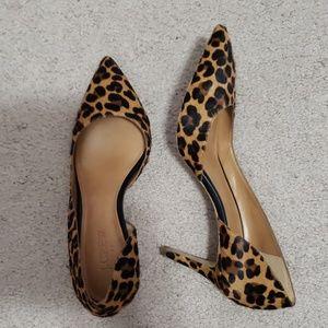 Leopard J.Crew heels